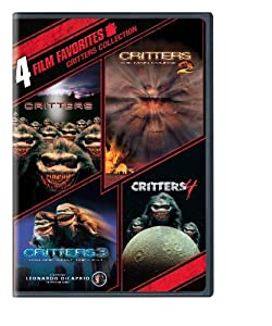 4 Film Favorites: Critters (Critters, Critters 2, Critters 3, Critters 4) by New Line Home Video
