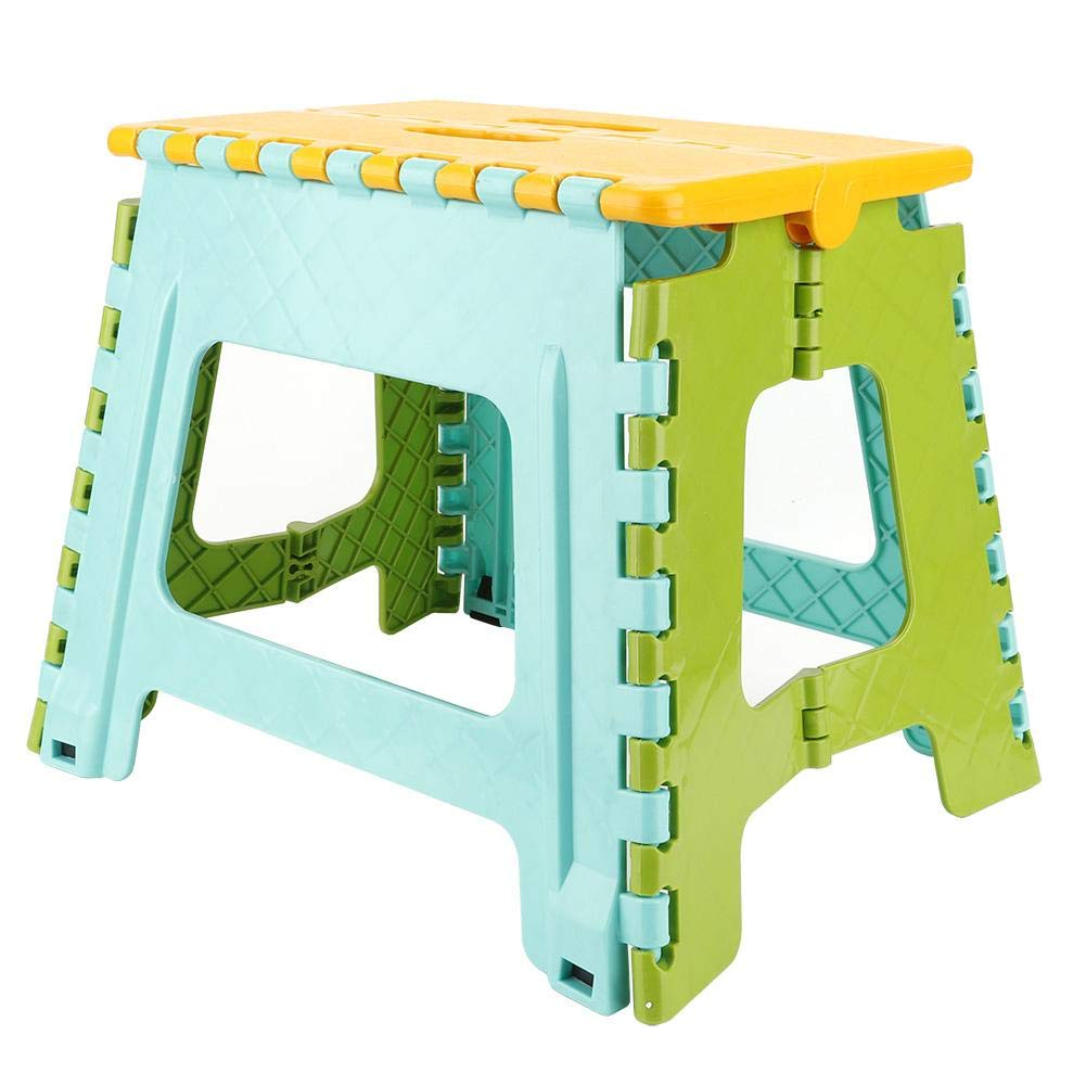 Aufee Folding Step Stool, PortableFootstool32 22.5 30 cm Foldable Stool for Kids Use for Home Camping Outdoor(#4) by Aufee