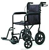 Lightweight Aluminum Transport Chair, Trnsprt Chr 12 in Whl Burg, (1 EACH, 1 EACH)