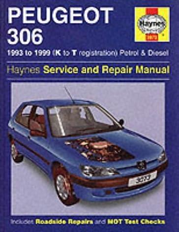 peugeot 306 service and repair manual 93 99 haynes service and rh amazon com Peugeot 308 R Peugeot 306 Karavan