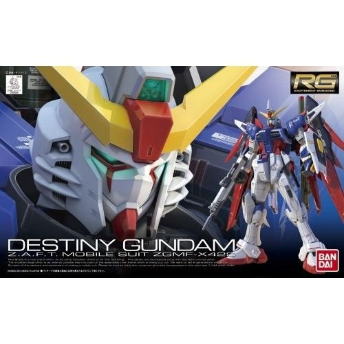 Gundam Seed Destiny Model Kits (Bandai Hobby #11 RG Destiny Gundam Model Kit, 1/144 Scale)