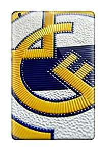 Quality Hotlove Case Cover With Real Madrid Logo Hd Nice Appearance Compatible With Ipad Mini/mini 2