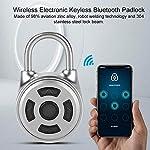 MNSZHF-Lucchetto-Bluetooth-intelligente-Mini-lucchetto-wireless-universale-Lucchetto-elettronico-Armadietto-senza-chiave-in-metallo-Controllo-APP-Blocco-password-Argento