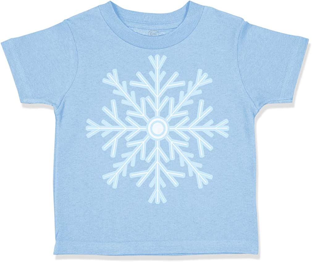 Custom Toddler T-Shirt Snowflake 2 Christmas Xmas Santa Boy /& Girl Clothes