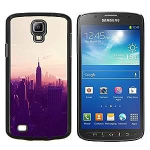 TECHCASE---Cubierta de la caja de protección para la piel dura ** Samsung Galaxy S4 Active i9295 ** --Nueva York City Empire State atardecer