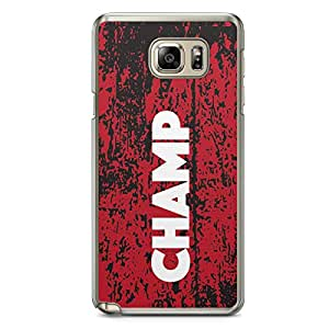 Champ Samsung Note 5 Transparent Edge Case - Titles Collection