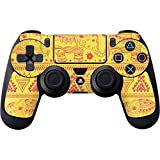 Cheap Patterns PS4 Controller Skin – Tribal Elephant Yellow