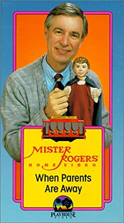 Amazon Com Mr Rogers Neighborhood When Parents Are Away Vhs Fred Rogers Betty Aberlin David Newell Joe Negri Robert Trow Chuck Aber Bill Barker Audrey Roth Don Brockett Francois Scarborough Clemmons Maggie Stewart
