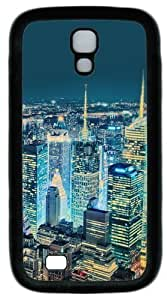 Cool Painting Samsung Galaxy I9500 Case and Cover -Superb View Over New York PC Rubber Soft Case Back Cover for Samsung Galaxy S4/I9500 by icecream design