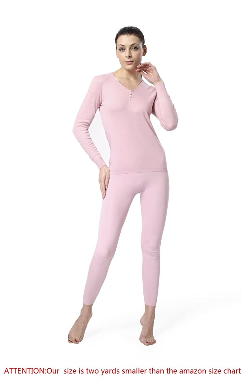 CARLEMARCH Restriction Breathe Freely Fabric Women's Seemless Thermal Underware