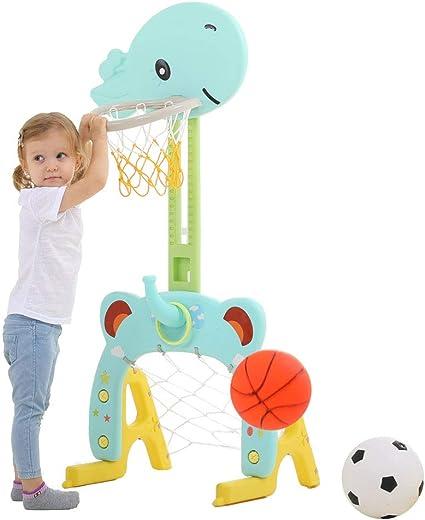 Amazon.com: Aro de baloncesto Beebeerun, 3 en 1, para ...