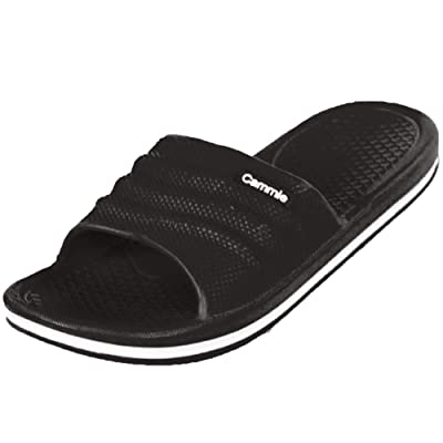 Cammie Women's Comfort Slip On Slide Sandals   Slides