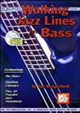 Walking Jazz Lines for Bass, Jay Hungerford, 0786659963