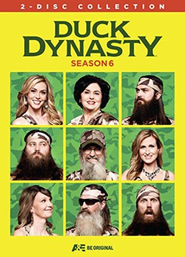 Duck Dynasty: Season 6 Willie Robertson Jase Robertson Si Robertson Korie Robertson