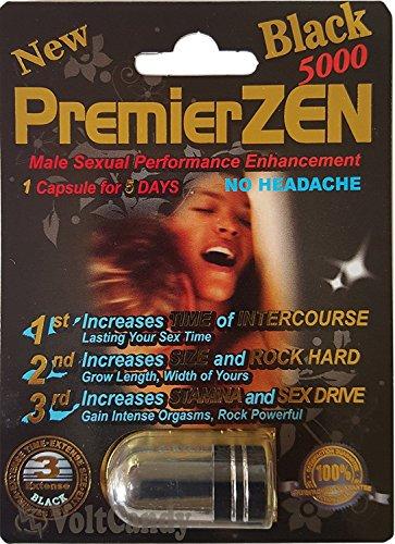 (PREMIER ZEN BLACK 5000 Male Sexual Performance Enhancement (10))