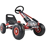 Merax Childrens Racing-Style Ride On Toy Pedal Car Go Kart