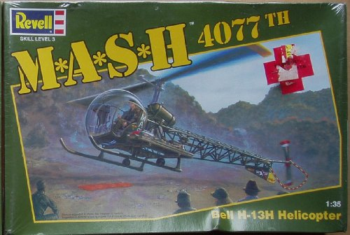Revell M*A*S*H 4077th BELL HELICOPTER 1/35 Model Kit for sale  Delivered anywhere in USA