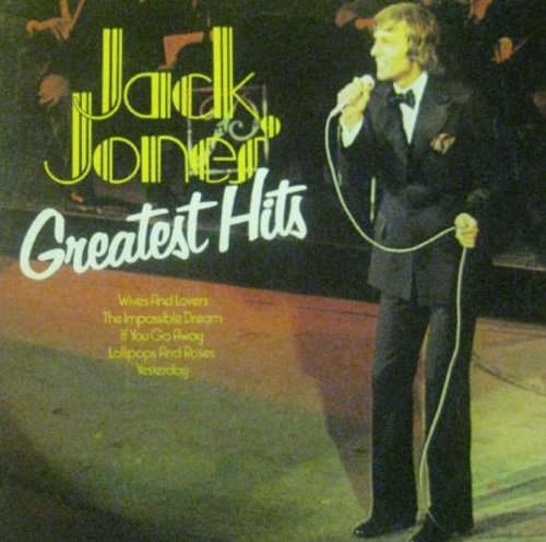 Jack Jones Greatest Hits - Jack Jones LP (Best Of Jack Jones)