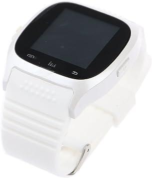 HuntGold Reloj de Pulsera Bluetooth Universal para iOS y Android ...