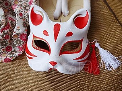 2015 – estilo japonés y viento máscara máscara de zorro máscara de gato Fox máscara de