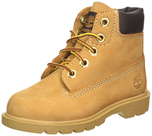 Youth Wheat Nubuck Kids Shoes (Timberland (Wheat Nubuck Classic, 6 M US Big Kid))