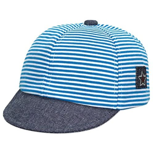 cheap Jelord Baby Boys Girls Striped Peaked Hat Baseball Beret Cap for sale