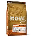 Now! Dry Dog Food, Grain Free Turkey and Duck Formula, Senior and Over-Weight, 25-Pound Bag, My Pet Supplies