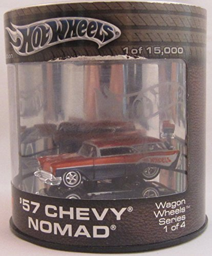 Hot Wheels Wagon Wheels Series 1 of 4 - 1957 Chevy Nomad - Chevy Nomad Wagon
