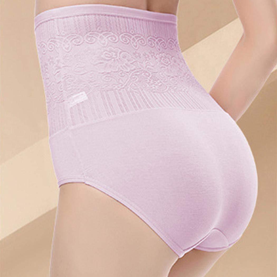 bulges Women Waist Trainer Brief High Waist Tummy Control Breathable Stretch Slim Body Shapewear Briefs