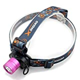 2000 lumens Q5 LED 5W headlamp headlight torch miner mining lamp light high capacity (include battery and charger)