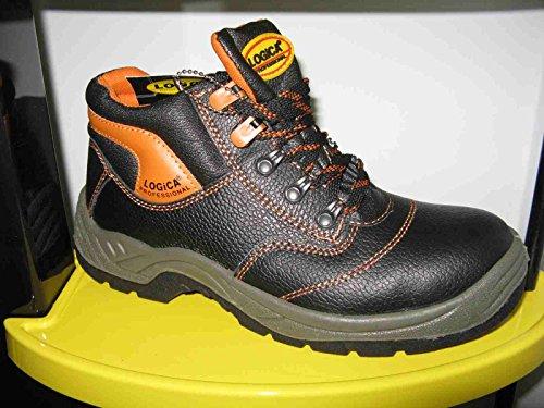 Zapatos de seguridad Logica S32/K, 44, negro, 1