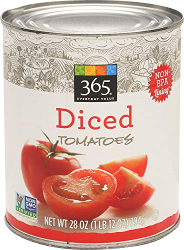 365 Everyday Value, Diced Tomatoes, 28 oz (Tomato Canned)