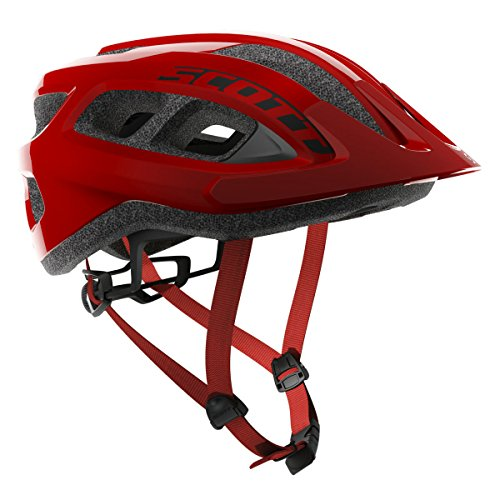 Scott Supra Bike Helmet - Red