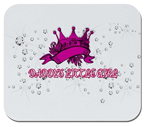Makoroni - Daddys Little Girl - Non-Slip Rubber Mousepad, Gaming Office Mousepad