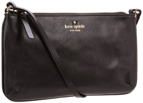 Kate Spade New York Mikas Pond Janelle  Cross Body,Black,One Size, Bags Central