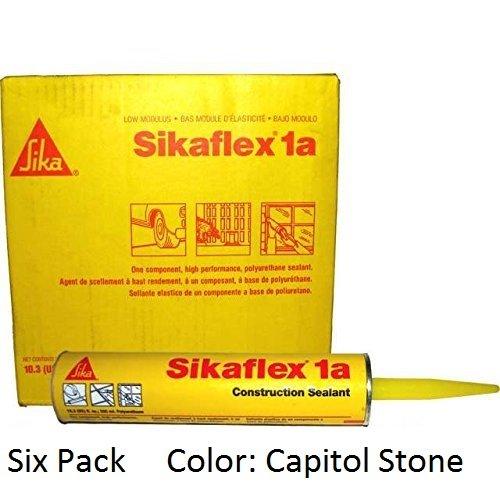 sika-sikaflex-1a-one-part-polyurethane-caulk-103-fl-oz-color-capitol-tan-six-pack