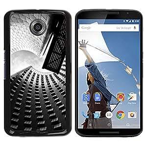 Estuche Cubierta Shell Smartphone estuche protector duro para el teléfono móvil Caso Motorola NEXUS 6 / X / Moto X Pro / CECELL Phone case / / Architecture Street & Buildings /