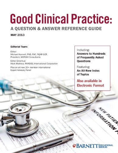 Good Clinical Practice  A Question   Answer Reference Guide  May 2013