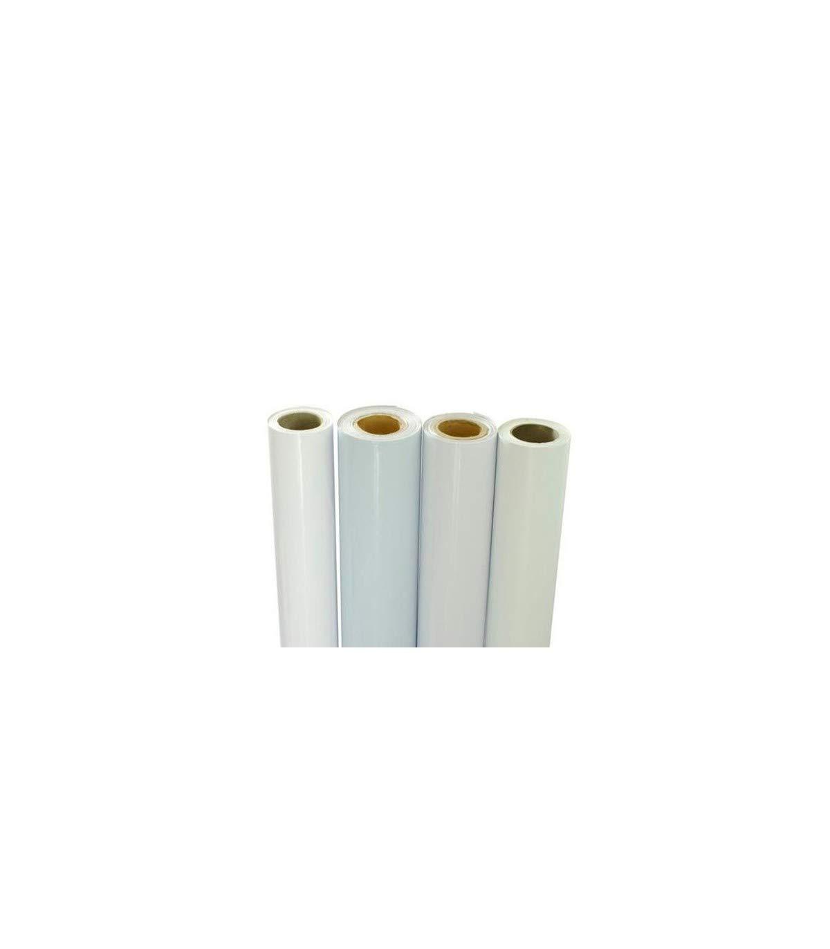 Wonduu Bobina Vinilo Monomérico Blanco Impresión 120g Rh-6201 1,37 ...