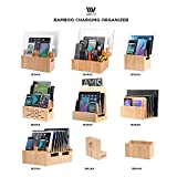 MobileVision Bamboo Charging Station & Compatible