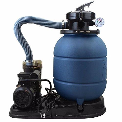 New NEW 4-WAY 2400GPH 13'' Sand Filter w/ Swimming Pool Pump UL List 10000GAL KIT SET by MTN Gearsmith