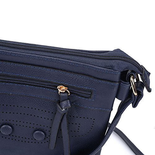 Leather Navy High Bag Nice Quality YOUNG Bags Body Women PU Fashion SALLY Cross xqfUYgwq