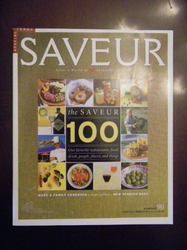 Saveur Magazine (Number 90) Special Issue February - Basin Gourmet