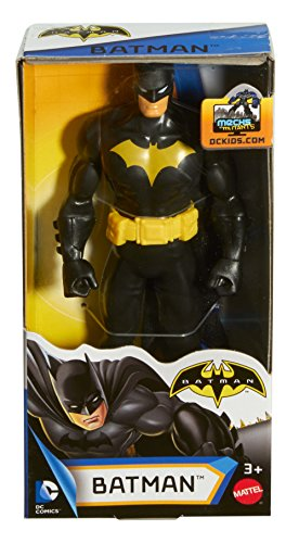 "DC Comics Justice League Action Batman Figure, 6"", Black Classic"