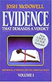 Evidence That Demands a Verdict, Josh McDowell, 0840743785