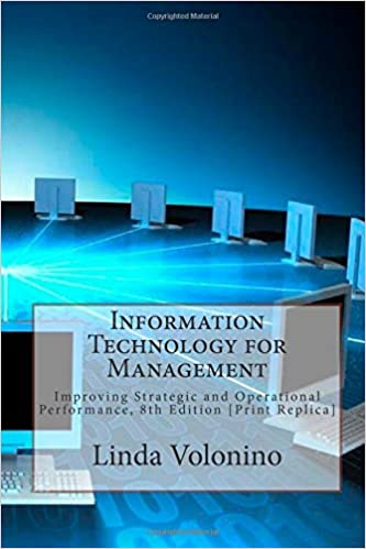 9780471229674: information technology for management: transforming.