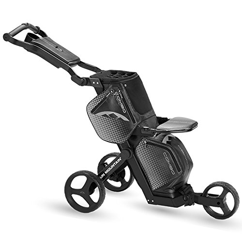 Sun Mountain Combo Push Cart Bag Black, Push (Sun Mountain Mountain Pull Cart)