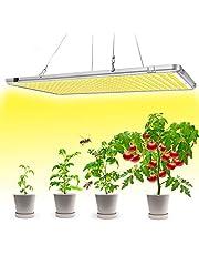 Bozily Lampada per Piante LED, 300W, Auto On/Off Temporizzazione, Ampiospettro, Spettro Completo, 338 LEDs, per Semina, Crescita, Germinazione e Fioritura