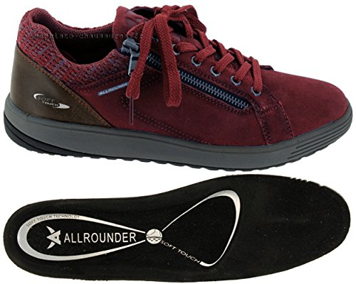 Running Dk suede Competition Shoes Red Winter Women's 48 Mephisto C Nw Red Madrigal YCatwxSpnq