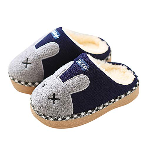 Indoor cotton slippers,G-real Toddler Baby Boys Girls New Cute cartoon rabbit winter home shoes
